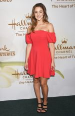 SADIE ROBERTSON at Hallmark Event at TCA Summer Tour in Los Angeles 07/27/2017
