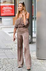 SANDRA KUBICKA Heading to TVN in Warsaw 07/08/2017