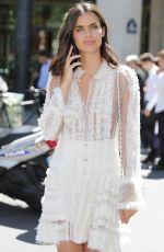 SARA SAMPAIO at Elie Saab Fashion Show at Haute Couture Paris Fashion Week 07/05/2017