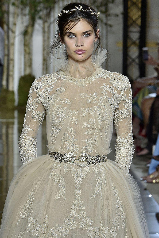 sara sampaio at zuhair murad show at haute couture paris
