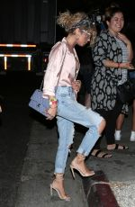 SARAH HYLAND Arrives at Break Room 86 for Demi Lovato Show in Los Angeles 07/10/2017