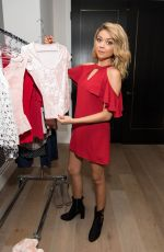 SARAH HYLAND Celebrates Back to School Fashion with Candie