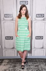 SARAH RAMOS at Build Speakers Series in New York 07/17/2017