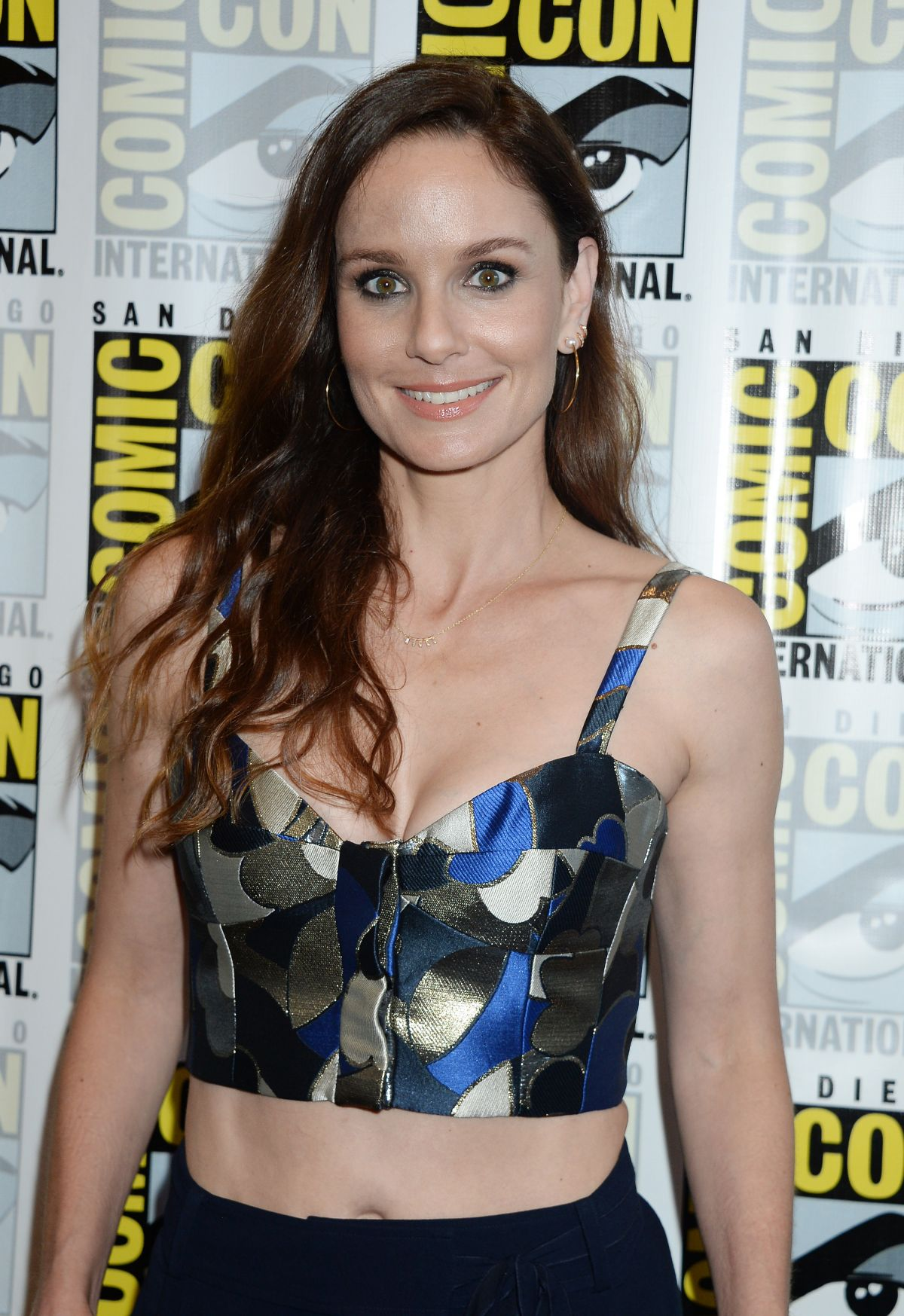 SARAH WAYNE CALLIES at Colony Panel at Comic-con International in San Diego 07/20/2017