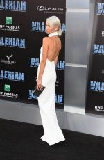 SASHA LUSH at Valerian and the City of a Thousand Planets Premiere in Hollywood 07/17/2017