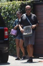 SCOUT LARUE WILLIS Leaves Her House in Los Angeles 07/11/2017