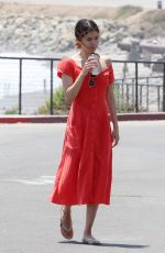SELENA GOMEZ Out and About in Malibu 07/11/2017
