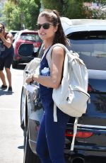 SELMA BLAIR at a Gym in Studio City 07/15/2017