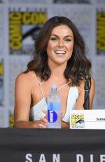 SERINDA SWAN at Inhumans Panel at Comic-con in San Diego 07/20/2017