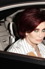 SHARON OSBOURNE Leaves The X Factor Auditions in London 07/05/2017