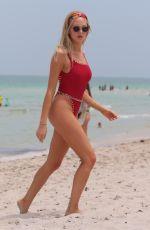 SHEA MARIE in Swimsuit ata Beach in Miami 07/26/2017