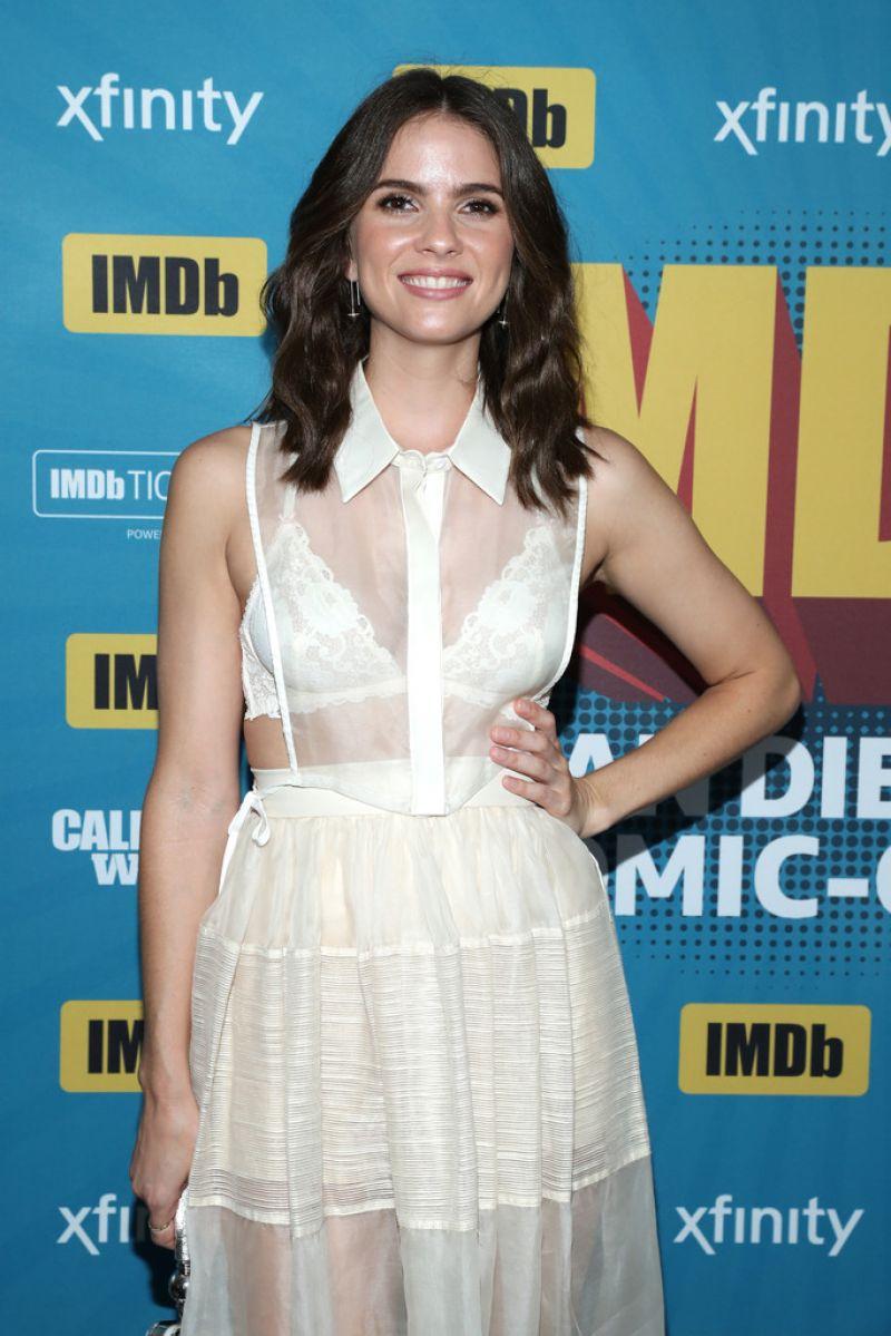 SHELLEY HENNIG at IMDB Panel at Comic-con in San Diego 07/20/2017