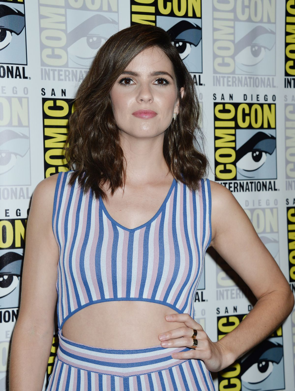 SHELLEY HENNIG at Teen Wolf Press Line at Comic-con in San Diego 07/21/2017