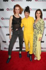 SHIRI APPLEBY at Strangers Premiere at Outfest Los Angeles LGBT Film Festival 07/15/2017