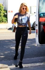 SOFIA RICHIE at Il Pastaio in Beverly Hills 07/10/2017