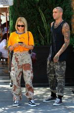 SOFIA RICHIE at Il Pastaio in Beverly Hills 07/19/2017