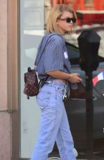 SOFIA RICHIE Out in Beverly Hills 07/14/2017