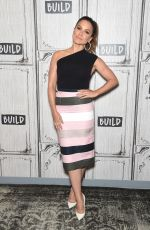 SOPHIA BUSH at Build Series in New York 07/13/2017