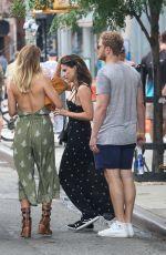 SOPHIA BUSH Leaves Her Hotel in New York 07/20/2017