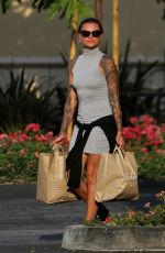 SOPHIA THOMALLA Out Shopping in Los Angeles 07/10/2017