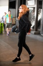 SOPHIE TURNER and Joe Jonas Arrives at LAX Airport in Los Angeles 07/20/2017