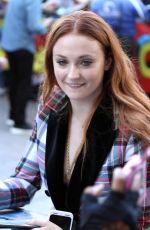 SOPHIE TURNER Arrives at Comic-con in San Diego 07/21/2017