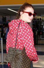 SOPHIE TURNER at Los Angeles International Airport 07/13/2017