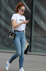 SOPHIE TURNER Out Shopping in Montreal 07/15/2017