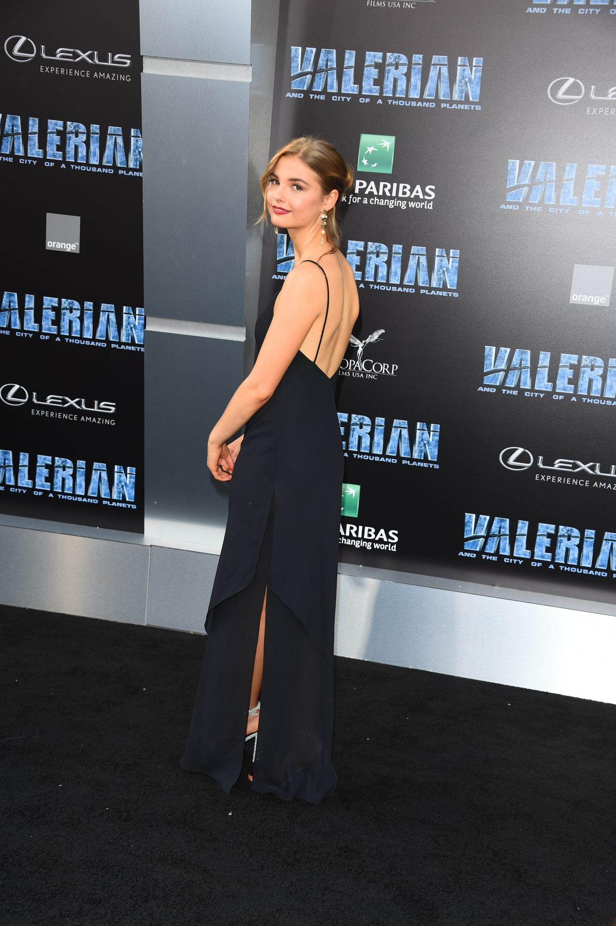 STEFANIE SCOTT at Valerian and the City of a Thousand ...