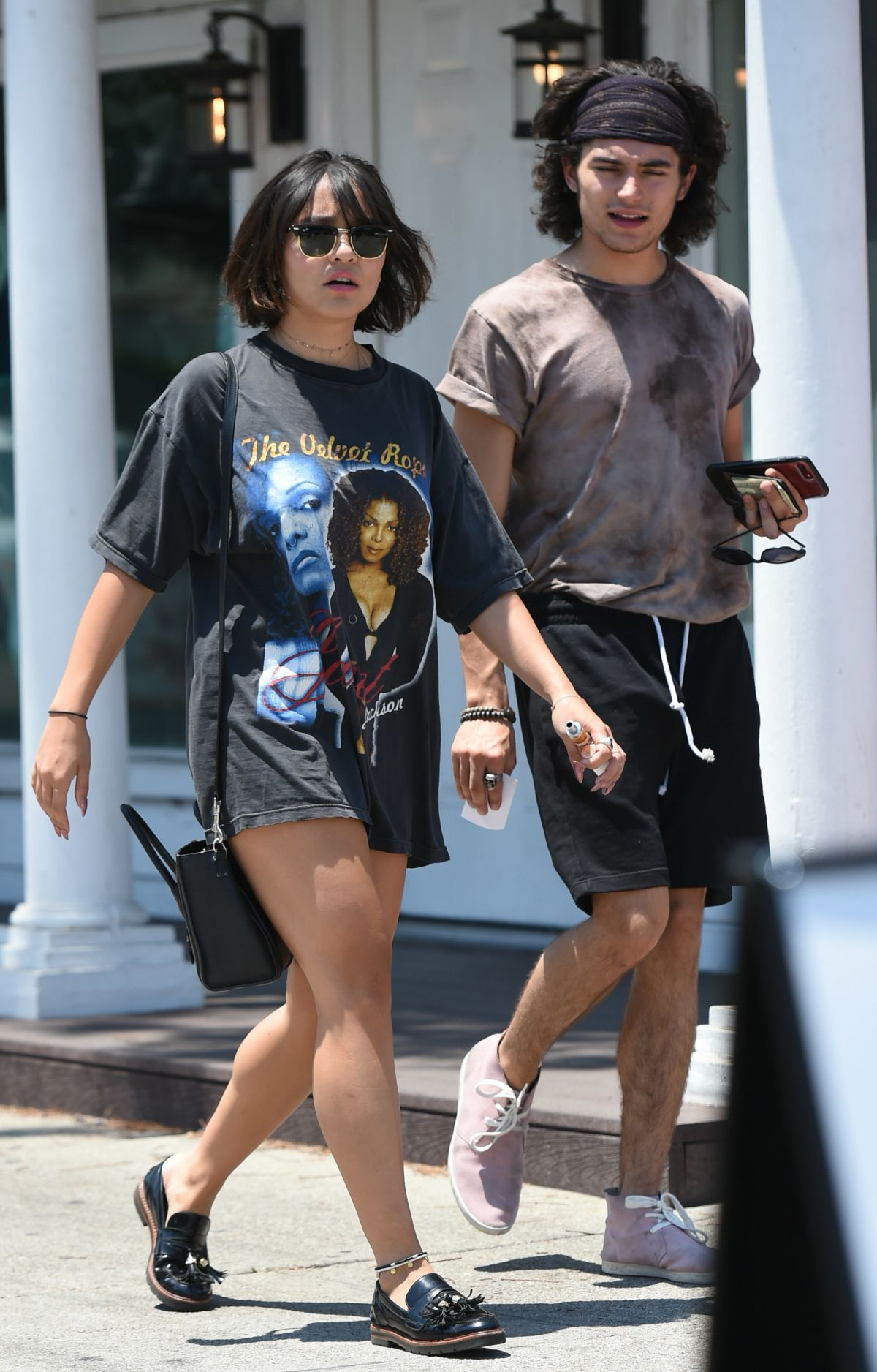 STELLA HUDGENS Out for Lunch with a Friend in Los Angeles 07/06/2017