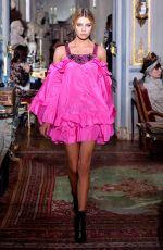 STELLA MAXWELL at Dundas Fashion Show in Paris 07/02/2017