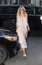 SUKI WATERHOUSE Out and About in New York 07/18/2017