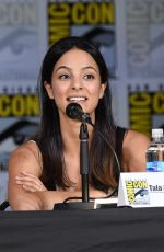 TALA ASHE at Legends of Tomorrow Panel at Comic-con in San Diego 07/22/2017