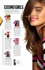 TAYLOR HILL in Cosmopolitan Magazine, UK August 2017