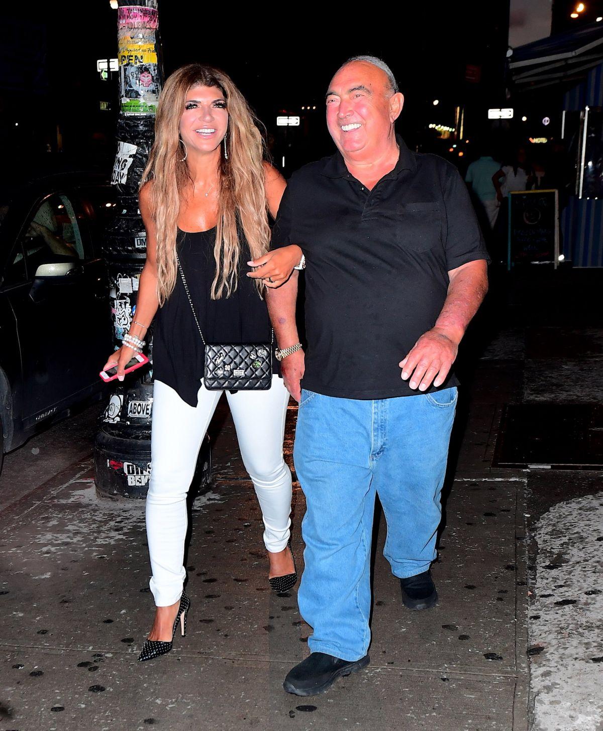 TERESA GIUDICE Night Out in New York 07/24/2017