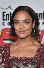 TESSA THOPMSON at Entertainment Weekly's Comic-con Party in San Diego 07/22/2017