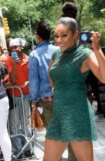 TIFFANY HADDISH Arrives at The View in New York 07/17/2017
