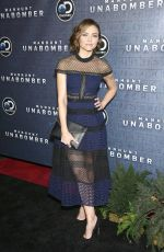 TRIESTE KELLY DUNN at Manhunt: Unabomber TV Show Premiere in New York 07/19/2017