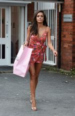 TYLA CARR Leaves Pretty Little Thing Clothing in Manchester 07/24/2017