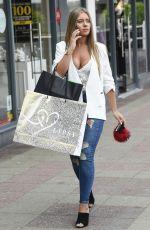 TYNE-LEXY CLARSON Out Shopping in Birmingham 07/10/2017