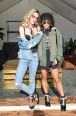 VANESSA and STELLA HUDGENS at Jeans Style Lounge in Los Angeles 07/23/2017
