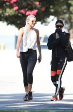 VANESSA HUDGENS at a Gym in Los Angeles 07/06/2017
