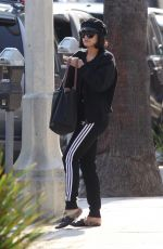VANESSA HUDGENS Heading to a Gym in Los Angeles 07/17/2017