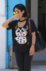 VANESSA HUDGENS Heading to a Gym in Los Angeles 07/19/2017