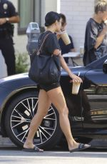 VANESSA HUDGENS Out for Coffee at Alfred