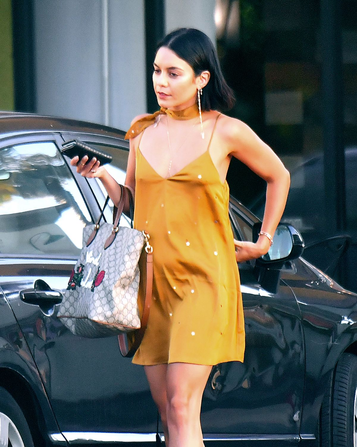 VANESSA HUDGENS Out in Los Angeles 07/06/2017