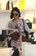 VANESSA HUDGENS Out Shopping in Studio City 07/12/2017
