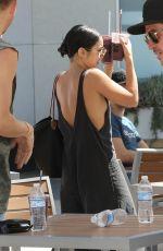 VANESSA HUDGENS at Equinox Fitness in West Hollywood 07/26/2017