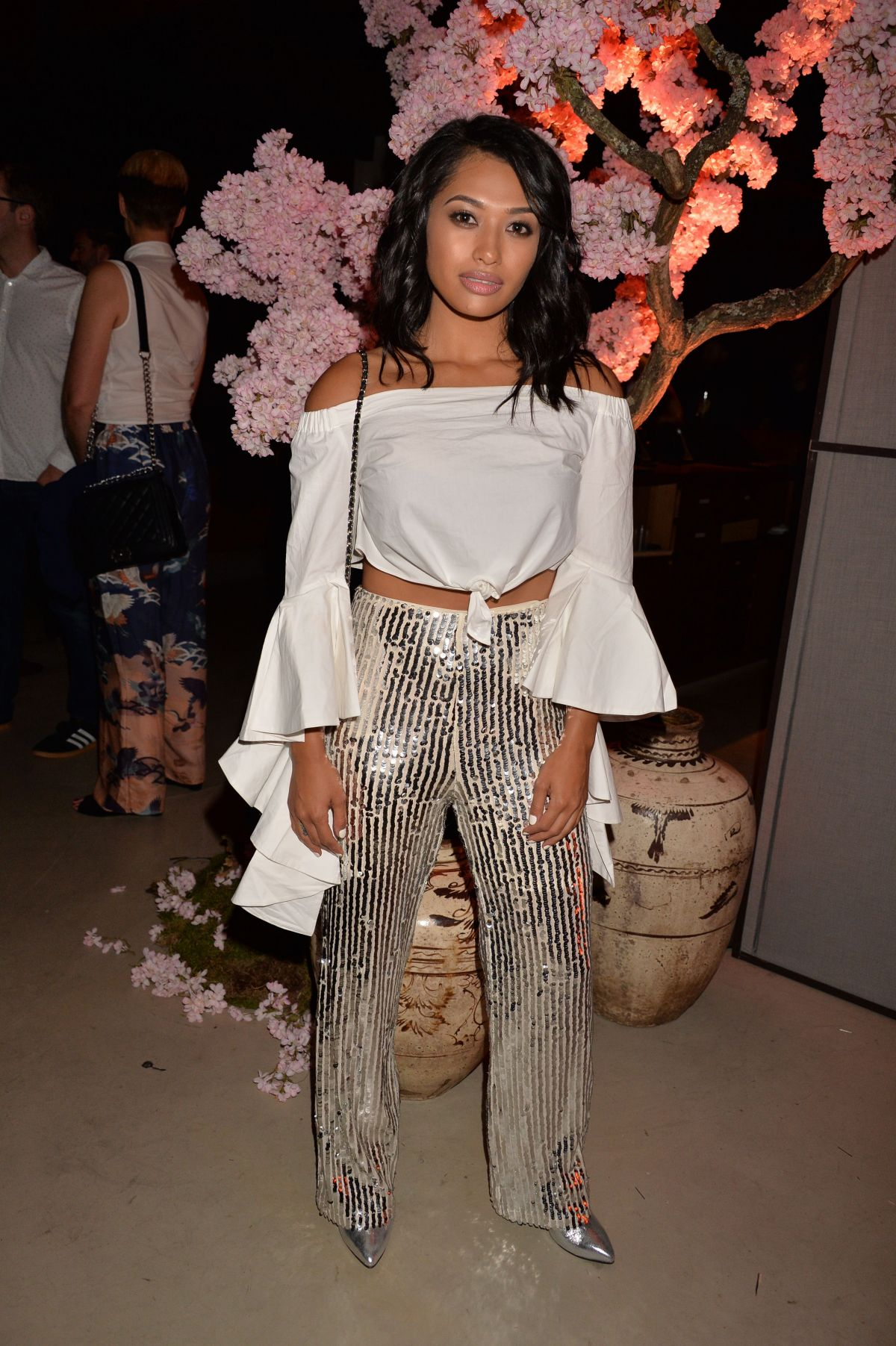 VANESSA WHITE at Warner Music and GQ Summer Party in ...