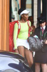 VENUS WILLIAMS Leaves Wimbledon After Her Wimbledon Ladies Final Defeat 07/15/2017